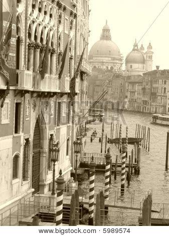 Venetian Canal Grande, Italy