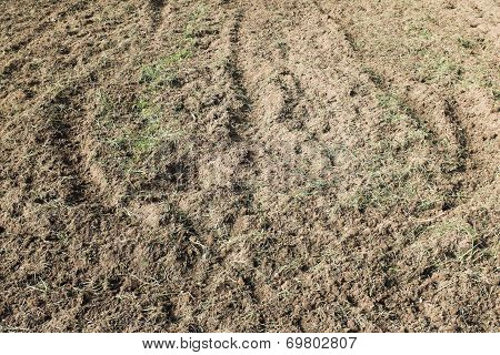 Texture And Pattern Of Dirt Nature Background