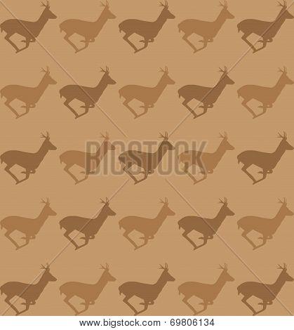 Running deer pattern