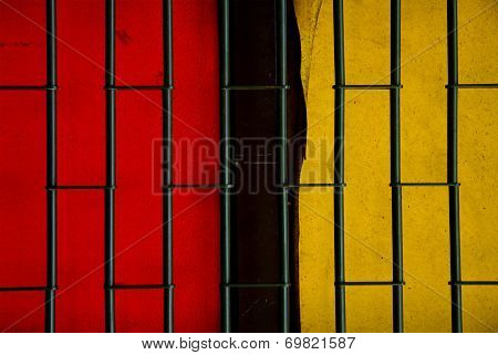 Red And Yellow Door