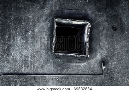 Abandoned air conditioning duct