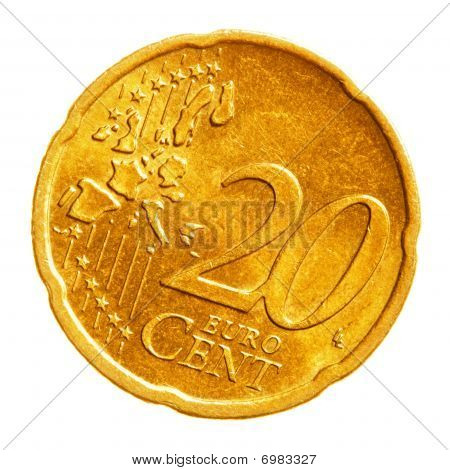 Twenty Euro Cents Coin