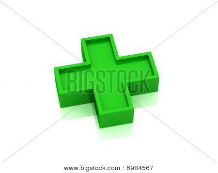 Green Medical Cross