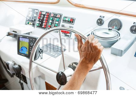 Driving Boat