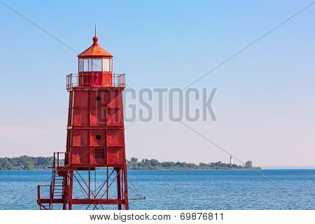 Two Wisconsin Lighthouses