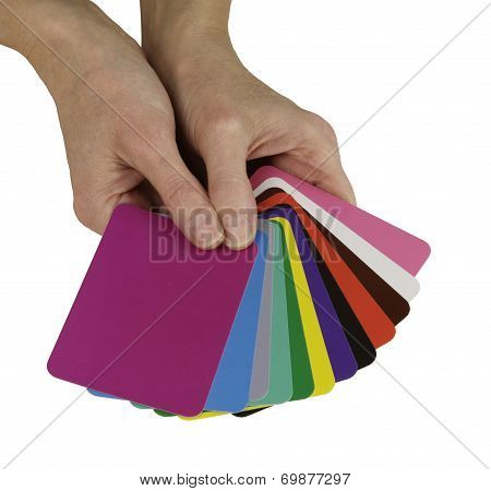 Color Healing Cards
