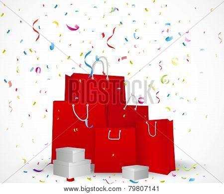 Sale celebration background concept