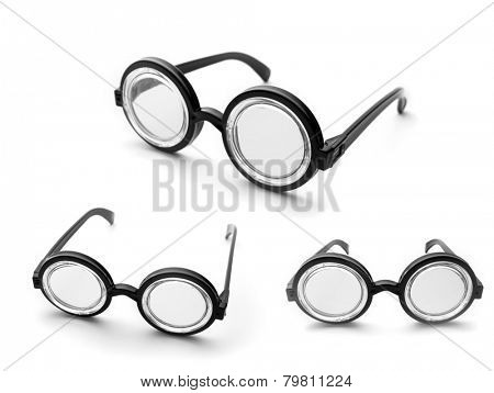 Set of nerd glasses