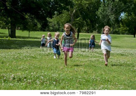Child Play In The Park