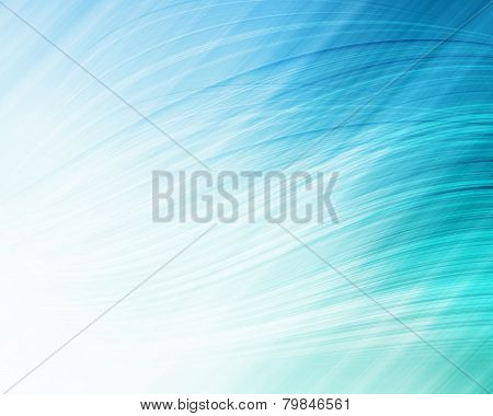 Abstract Blue Lines - Background