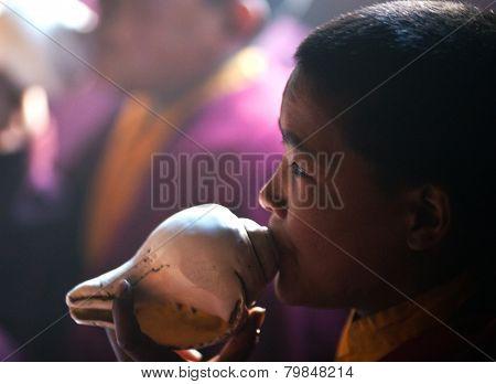 Buddhists chants, Nepal