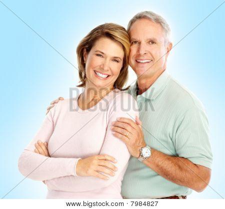 Senioren paar