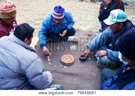 Tibetan Table Game