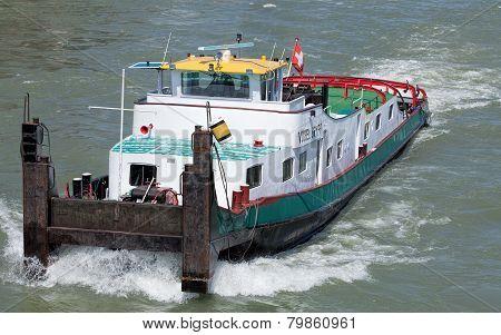 Fogel Gryff Towboat on the Rhine River