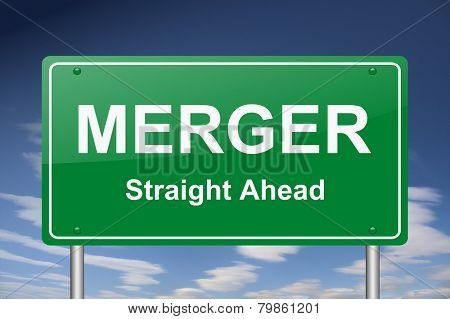 merger sign