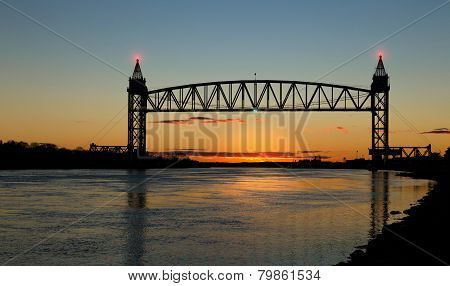 Railway Bridge In Cape Cod