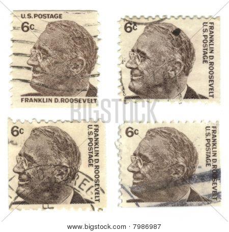 alten Briefmarken von Usa 6 cent