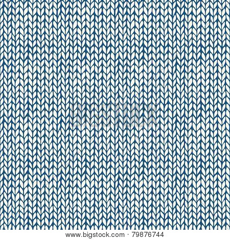Seamless patterns with knitted texture