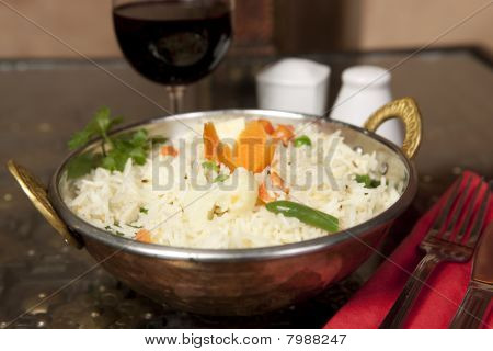 Basmati Rice With Moong Dhal