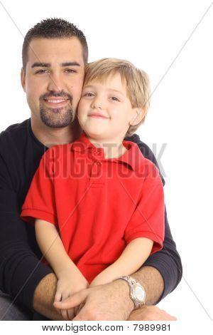 single parent with son