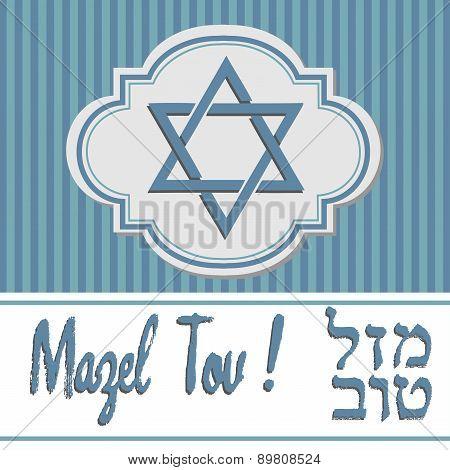 Mazel Tov greeting