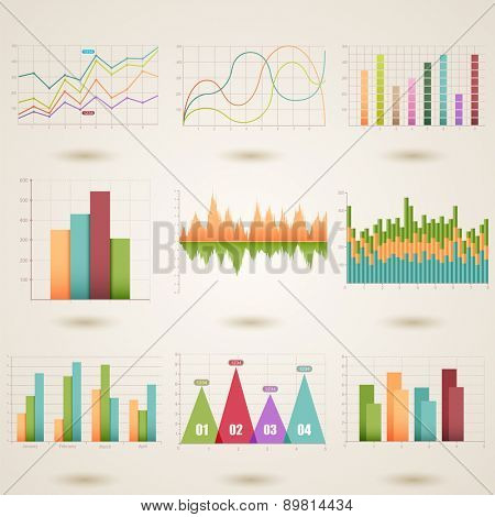 Vector illustration of a graphic information