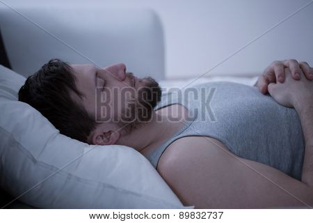 Dozing Man