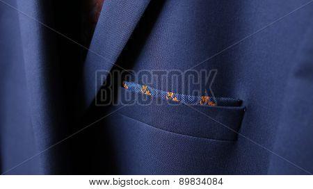 Close-up Of Jacket Pocket