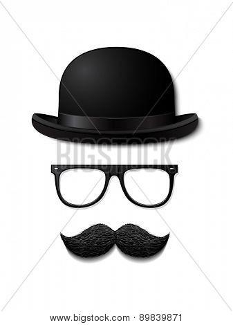 Gentleman vector illustration