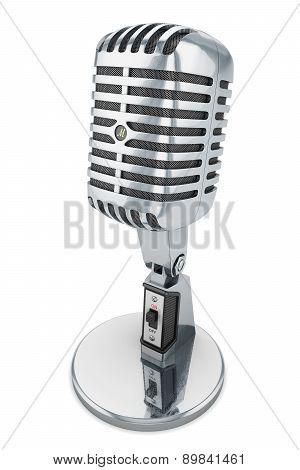 Retro Microphone 50'S