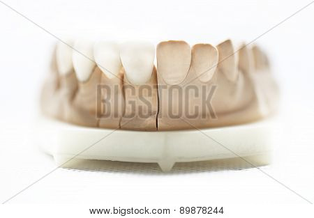 dental dentist objects isolated on white background