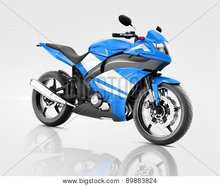 Motorcycle Motorbike Vehicle Riding Transport Transportation Concept