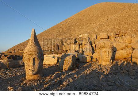 Head Of Goddess Of Commagene (tyche)