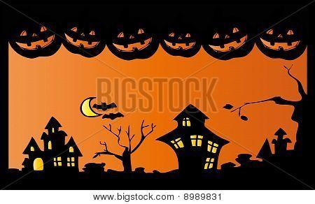 Noche de Halloween.