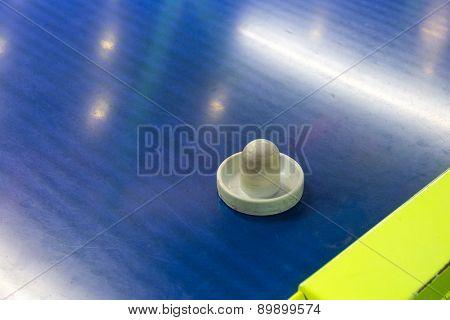 Air hockey paddle
