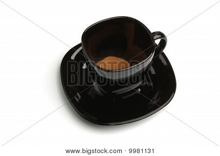 Instant Coffee In The Mug