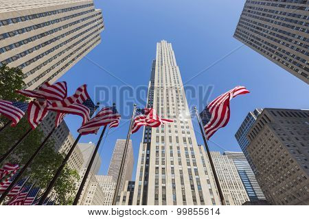 Rockefeller Center, Midtown Manhattan, New York, USA