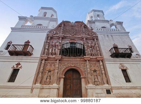 A Mission San Xavier Del Bac, Tucson