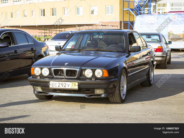 Old Car Bmw 5 Series Image Photo Free Trial Bigstock E34