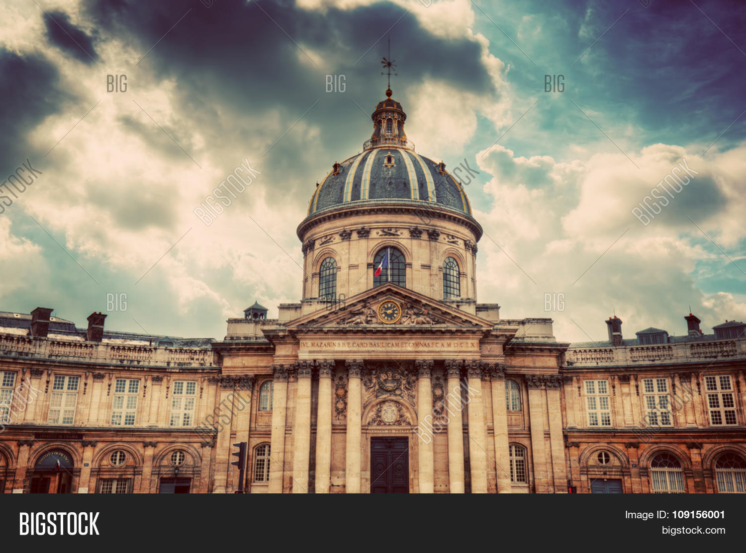 institut de france image photo free trial bigstock