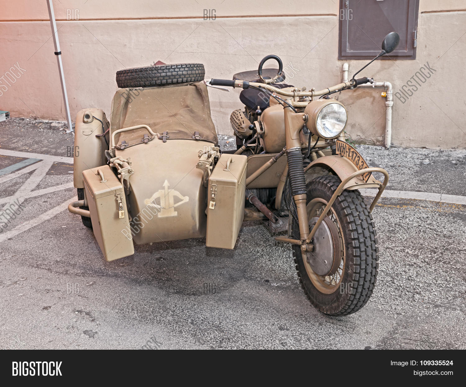 German Military Bike Image & Photo (Free Trial) | Bigstock
