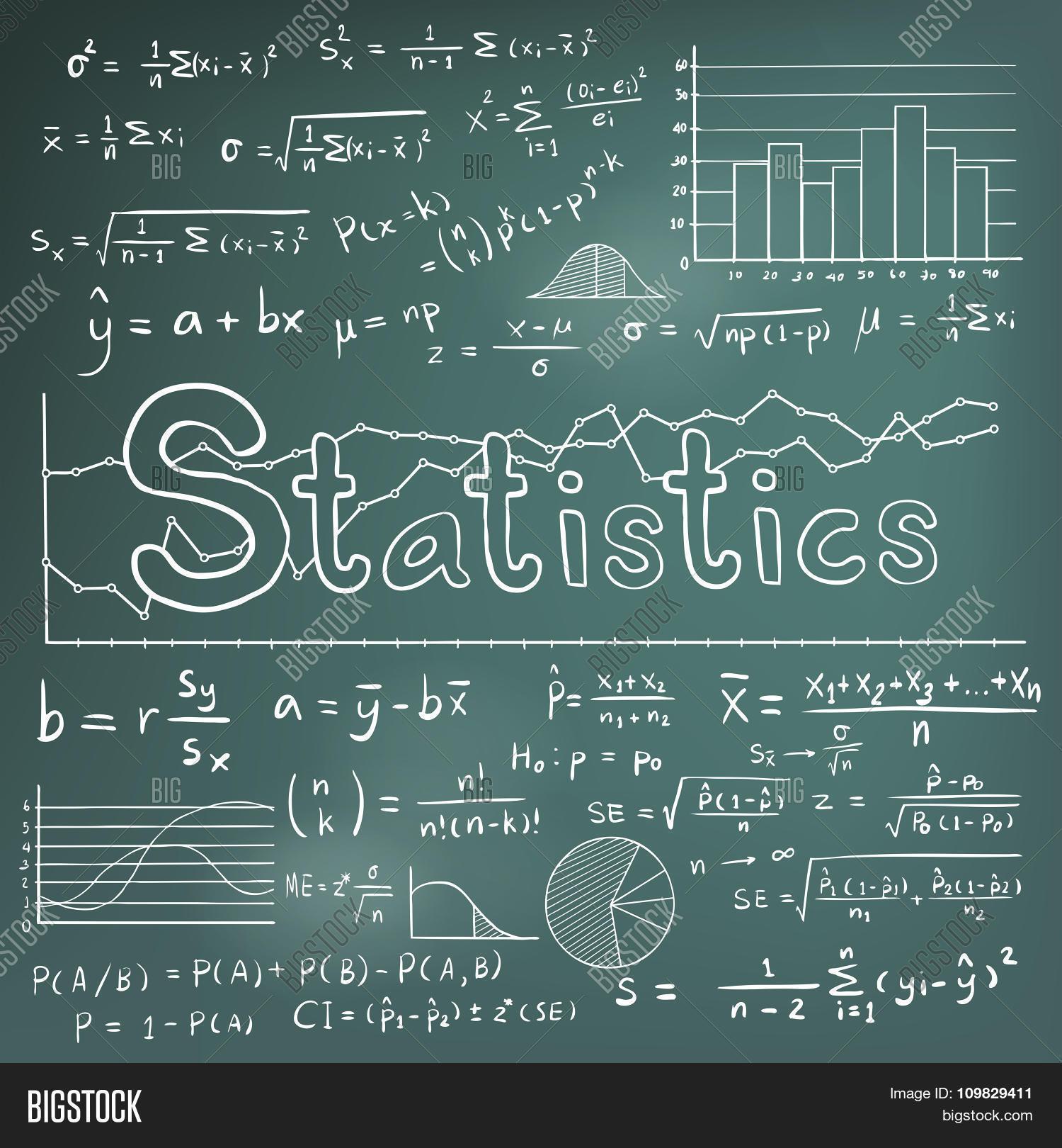 Statistic Math Law Vector & Photo (Free Trial)   Bigstock