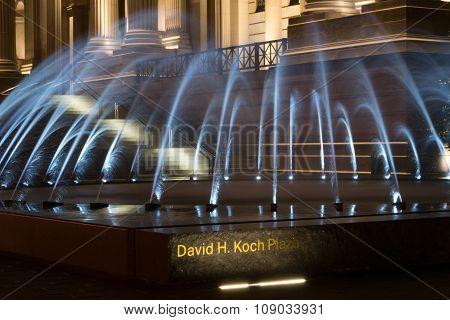 David H Koch Plaza Fountain