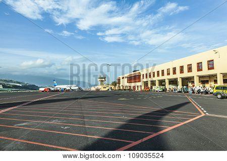 Airport In La Palma