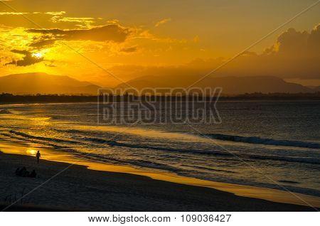 Byron Bay at Sunset