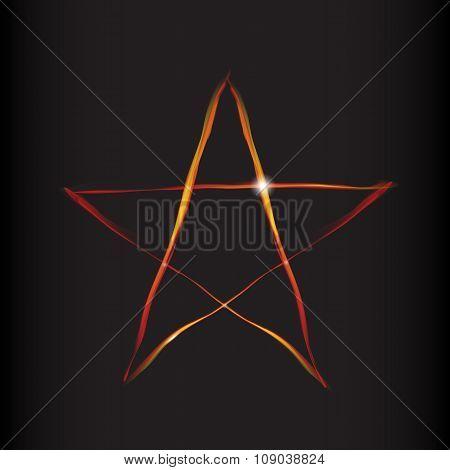 Fire Magic Star