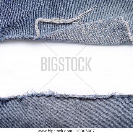 ripped jeans with blank space