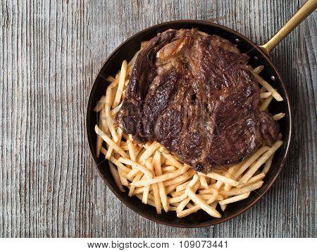 Rustic Steak Frites