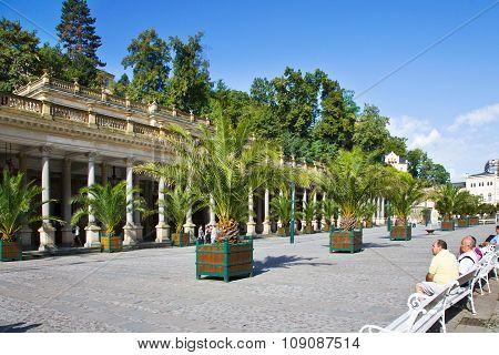 Spa Town Karlovy Vary, Czech Republic, Europe