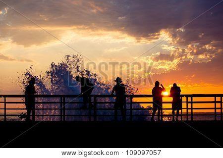Sunset Breaker